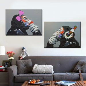 2-Panel-Orangutan-Oil-Painting-Canvas-Print-for-Living-Room-Home-Decoration-Poster-Wall-Art-Picture.jpg