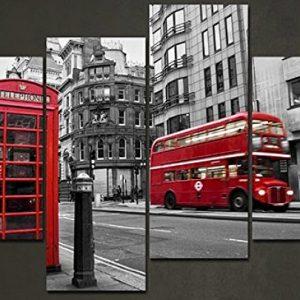 Framed-4-Panels-Set-European-street-HD-Canvas-Print-Painting-Artwork-Gift-Wall-Art-Picture-decorative.jpg
