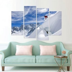HD-Printed-Modular-Canvas-Pictures-Wall-Art-Frame-4-Panels-Skiing-In-The-Snow-Mountain-Painting.jpg