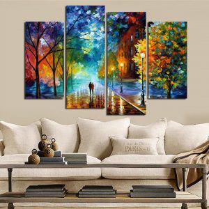HD-Printed-Wall-Art-Painting-Modular-Photo-Fashion-4-Panels-Colorful-Tree-Street-Lover-Canvas-Room-11.jpg