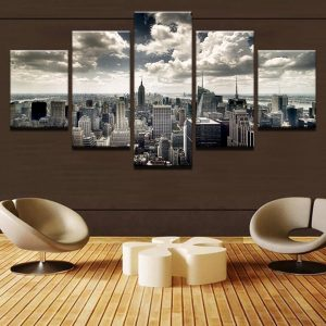 Modern-Home-Decor-Living-Room-Canvas-5-Panel-City-Building-Aerial-View-Frame-Wall-Art-Poster.jpg