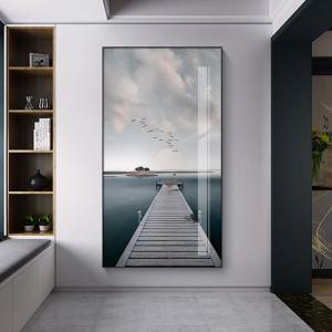 0-main-mer-paysage-toile-affiche-nordique-littoral-pont-mur-art-imprimer-paysage-marin-peinture-dcoration-photos-scandinave-dcor–la-maison