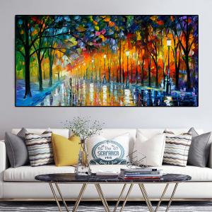 0-main-peinture–lhuile-de-paysage-avec-lumire-sous-pluie-dcoration-de-maison