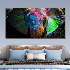 0-main-tableau-dlphant-africain-avec-animal-sauvage-sur-toile-affiches-dart-mural-et-imprims